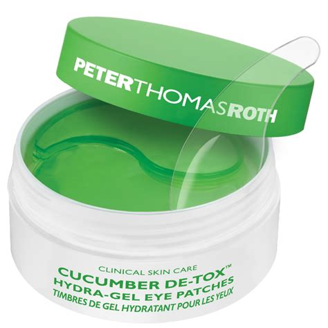 Roth Cucumber Detox Eye Mask by Roth Cucumber Hydra Gel Eye Masks Free