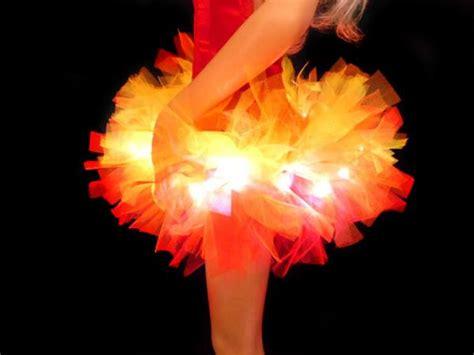 light up tutu girls on fire light up tutu tutu factory uk