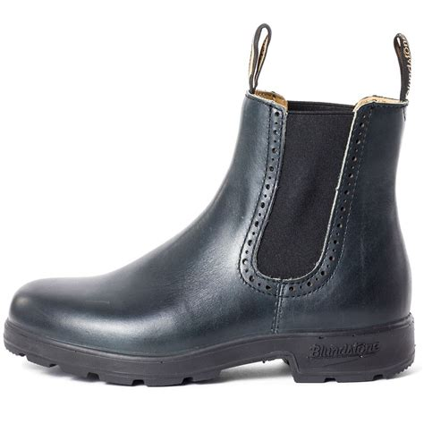 blundstone 1441 mens ankle boots in navy
