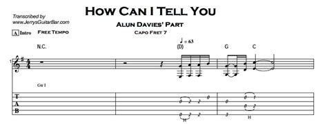 how can you tell when a is cat how can i tell you jerry s guitar bar