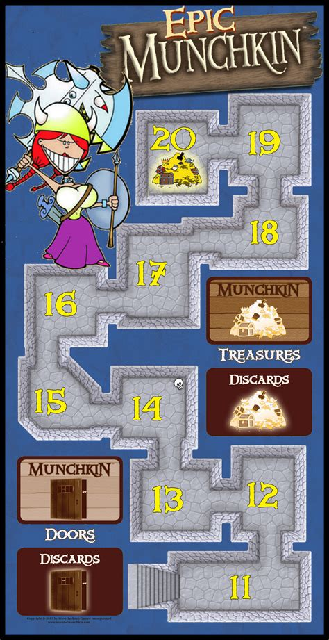 Epic Munchkin Game Board by firedude1994 on DeviantArt