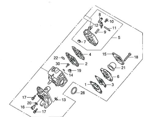 mantis tiller parts diagram stihl leaf blower carburetor parts