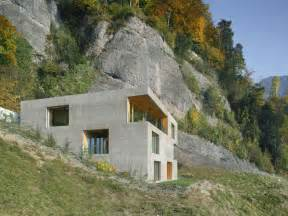 hillside home hillside home is wood frame construction with concrete facade modern house designs