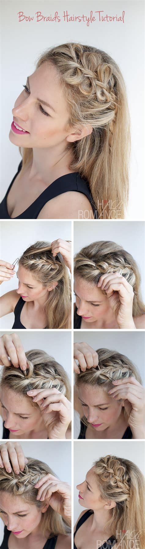 how to braid short hair step by step step by step hair braids tutorial