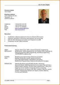 Best Resume Sample In Doc by Resume In English Resume Format Download Pdf