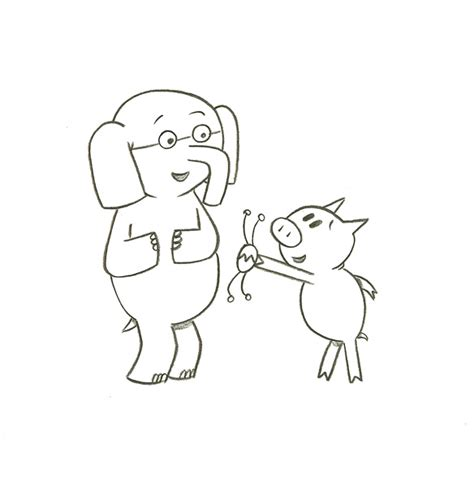 Gerald And Piggie Coloring Pages free coloring pages
