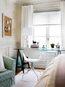 bedroom with desk creative and inspirational home offices hgtv