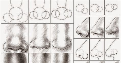 tutorial gambar hidung kodok mata empat cara membuat gambar hidung