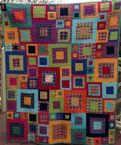 plaid flannel quilt      quilt   pa flickr