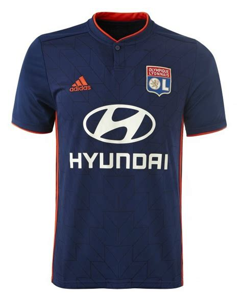 Jersey Go Lyon Away 2nd new olympique lyon jersey 2018 2019 adidas ol home away shirt 2018 19 football kit news