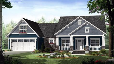 country craftsman house plan family home plans