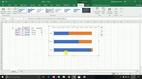 Excel Chart Templates 2016