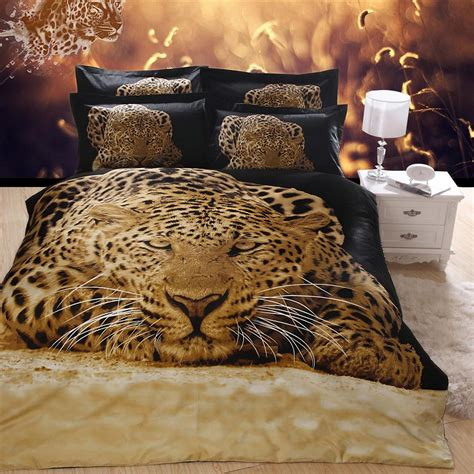7 Gorgeous Animal Prints For Fall by Beautiful 3d Painting Cheetah Black Bedding Set Animal
