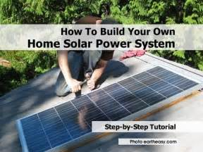 how to build your own solar power system for your home cheapest solar panel philippines make a