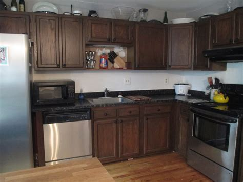 How Do You Stain Kitchen Cabinets How To Gel Stain Kitchen Cabinets