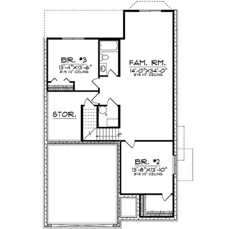 200 square foot house plans 28 images 2359 sq ft house traditional style house plan 3 beds 2 50 baths 2241 sq