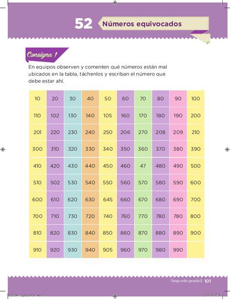 libros de matematicas primaria 2grado 2015 2016 n 250 meros equivocados desaf 237 os matem 225 ticos 2do bloque 5
