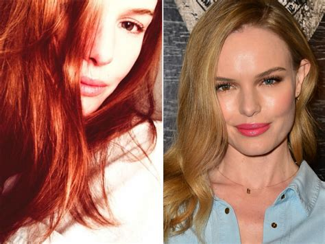 actress dyed hair red for role kate bosworth has red hair now see the pics