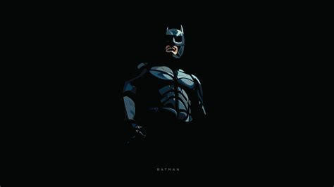 wallpaper batman minimal dark background dc comics