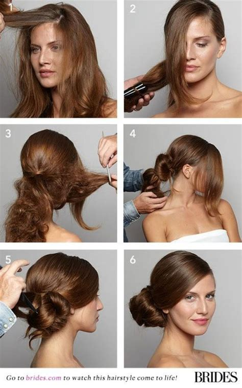 diy hairstyles side bun wedding hairstyle 101 how to diy a side bun 2167663