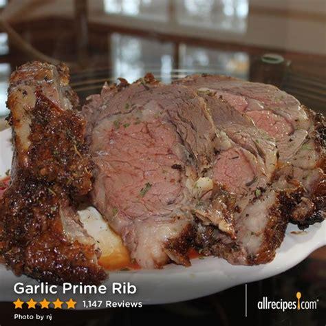 printable prime rib recipes garlic prime rib see how to make a top rated garlic
