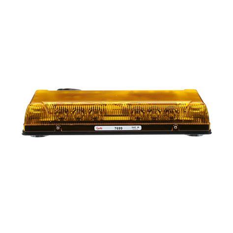 Yellow Led Light Bar 76993 17 Quot Low Profile Led Mini Light Bar Yellow