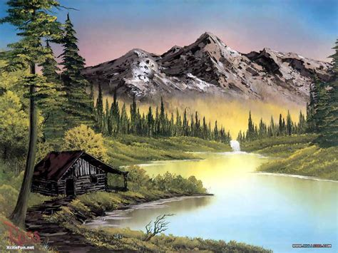 bob ross painting bob ross paintings beautiful xcitefun net