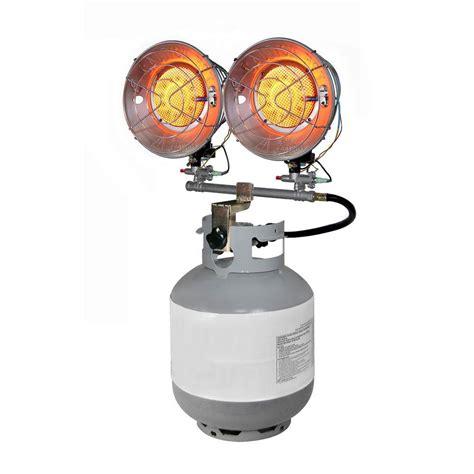 Gas Burner Heater Dyna Glo 30k Lp Tank Top Gas Portable Heater Csa