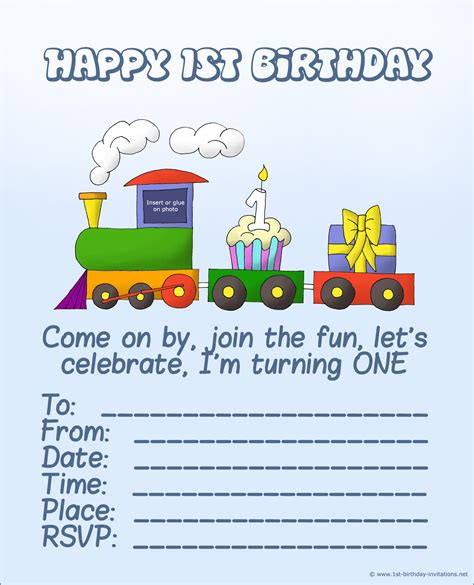 1st birthday invitation template free printable 20 1st birthday invitations free printable and