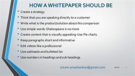 How To Make A White Paper - creating a white paper that helps in lead capturing