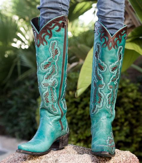 womens cowboy boots clearance tsaa heel