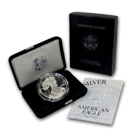 1 Oz American Silver Eagle Coin Varied Year Cull Damaged - buy proof american silver eagles w box coa l