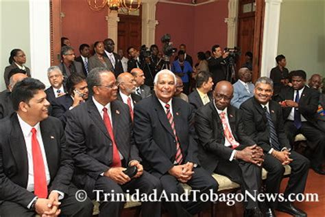 Cabinet Of And Tobago by Cabinet Reshuffle New Ministers 171 And Tobago