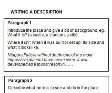 Description Of A Place Essay by Writing A Description Of A Place