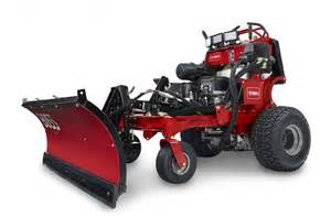 Toro s grandstand multi force is shown here with a boss snow