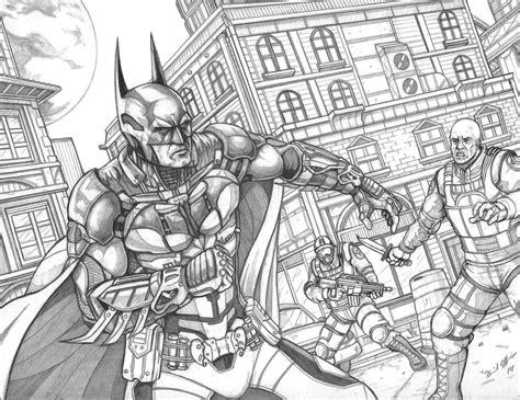 coloring pages batman arkham knight batman arkham knight by daniel jeffries on deviantart