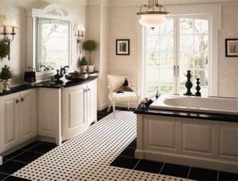 white and black bathroom 23 traditional black and white bathrooms to inspire digsdigs
