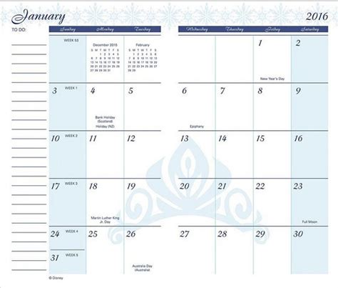 free printable pocket planner 2016 calendar template 2016