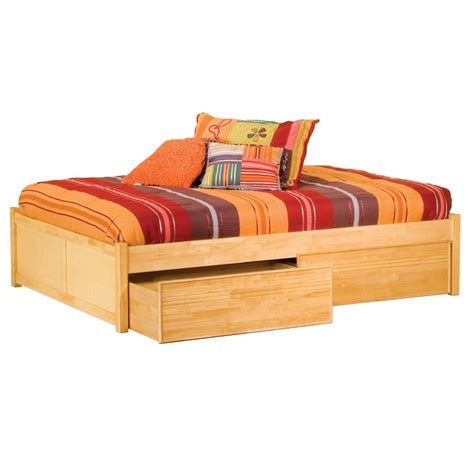 Twin Storage Beds With Drawers Humble Abode Xl Twin Xl Captains Bed