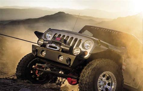 Jeep Wench Introducing The Zeon Platinum Warn Winch