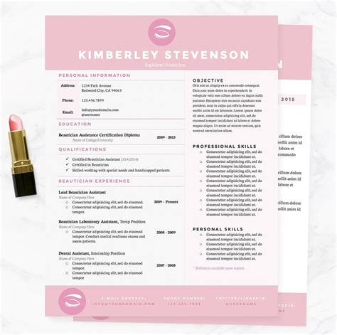 Resume Sles For Creative Design Professionals 71 best images about professional resume templates on