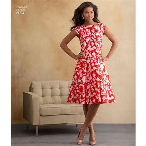dress pattern catalogues simplicity 6094 women s dress sewing pattern