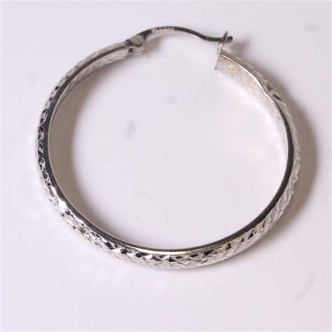 Single Hoop Earring single hoop earring 59 hoop earrings on for pastal