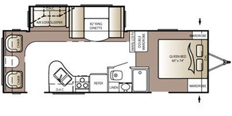 outback cers floor plans 2011 keystone rv outback series m 268 rl specs and