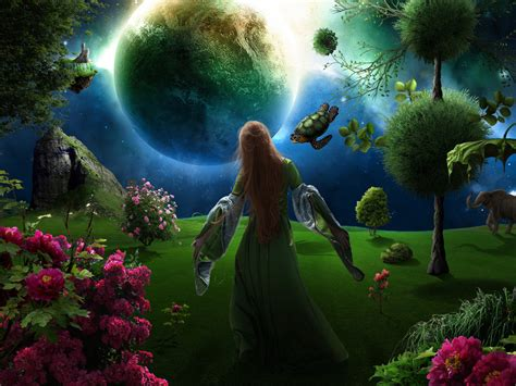 mother nature s garden by jesus at art on deviantart