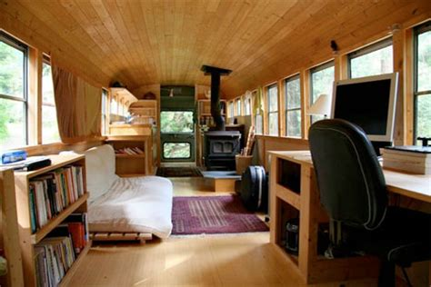 Modern Homes Interior Design school s out forever 12 crazy diy converted bus homes