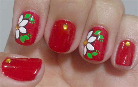 imagenes de uñas decoradas simples unhas decoradas simples manual bela e simples nail art