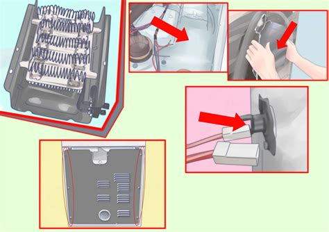 Removing Hair Dryer Heating Element how to change the heating element in a dryer 8 steps