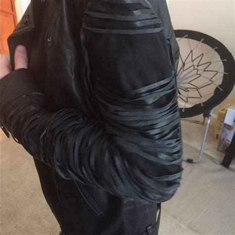 Shredded Leather Is That A Thing Now by 88 Haute Hippie Jackets Blazers Haute Hippie Xs