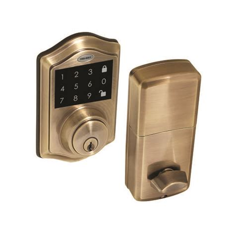 Tru Bolt Door Knobs by Tru Boltelectronic Touchscreen Deadbolt With Remote At